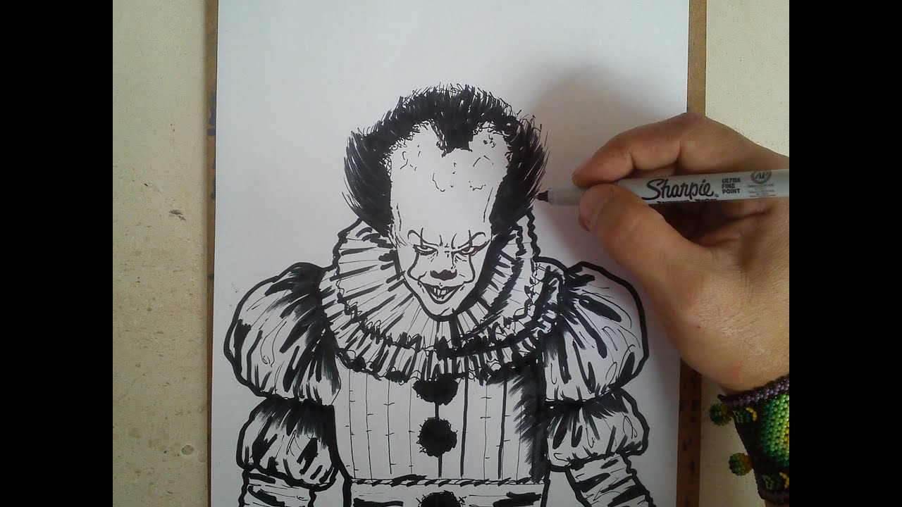 Como Dibujar A It Eso Pennywise How To Draw It Eso Pennywise