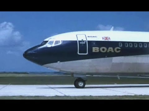 "BOAC Boeing 707 Speedbird Travelogue - ""Caribbean Holiday"" -  1971"
