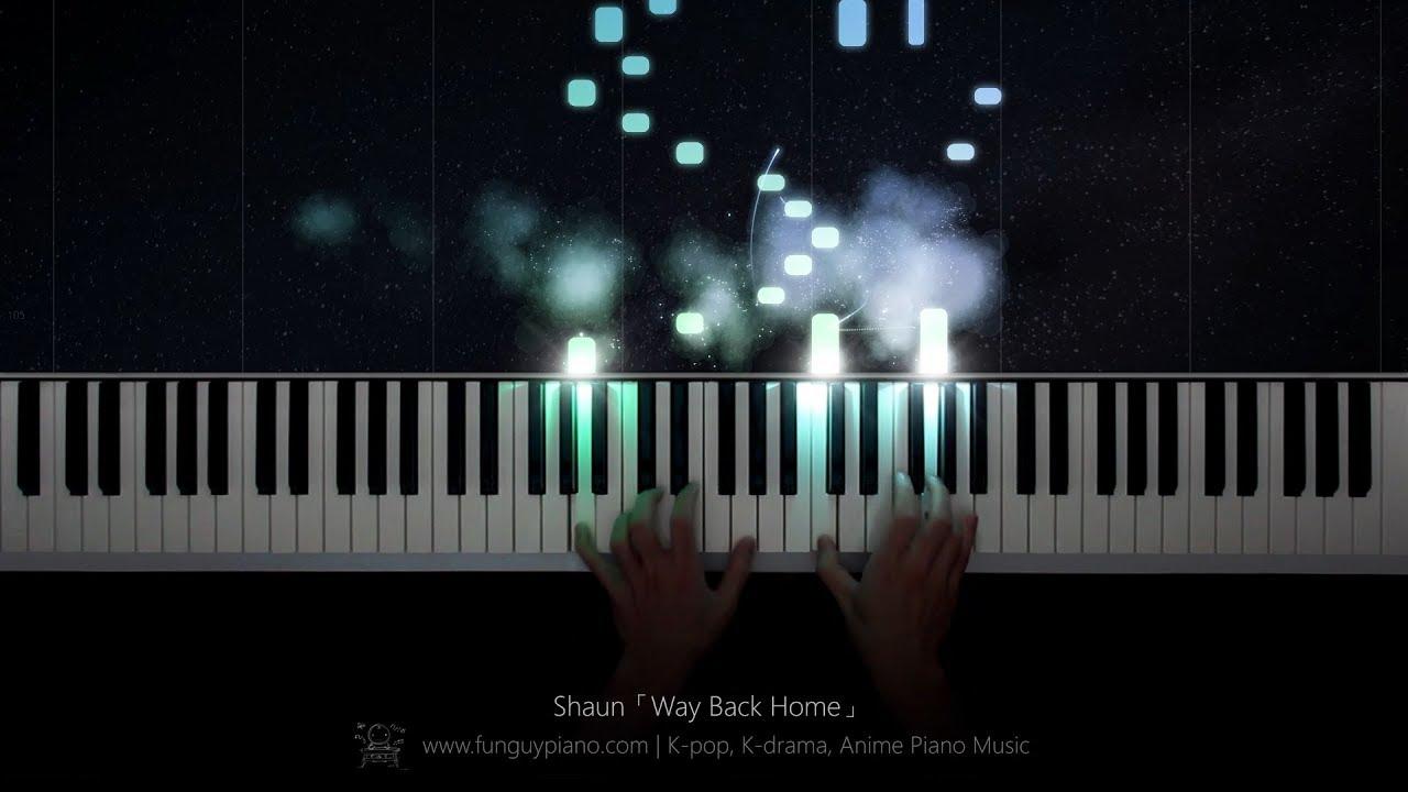 Shaun「Way Back Home」Piano