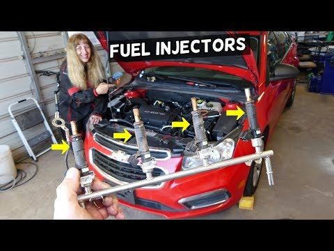 FUEL INJECTORS REPLACEMENT CHEVROLET CRUZE, SONIC  FUEL INJECTOR REMOVAL