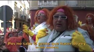 Letras Viva La Pepi Chirigota Carnaval Cádiz