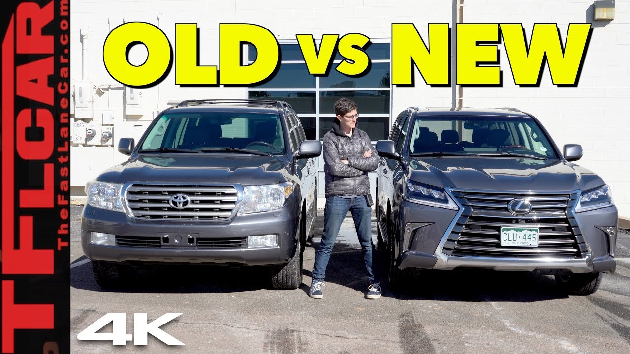 2019 Lexus LX570 - What's better an old Land Cruiser or a New Lexus? Old vs  New Ep 1