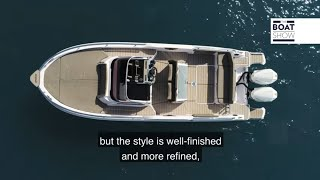 RANIERI INTERNATIONAL NEXT 285 LX - Motor Boat Review - The Boat Show