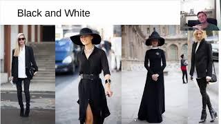 Магия черного цвета в составлении образов