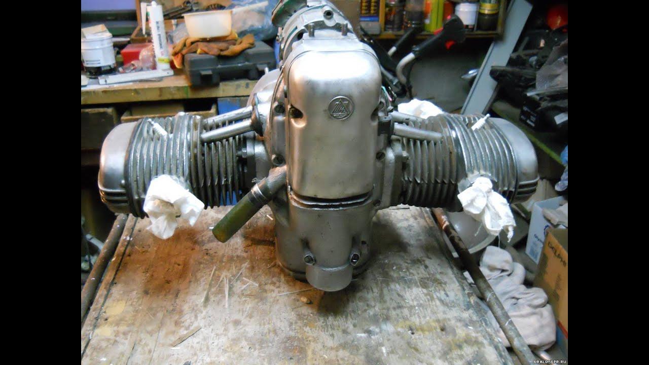 Мотоартель: Старинный двигатель мотоцикла - YouTube