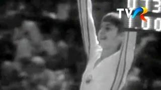Nadia Comăneci - NOTA 10 la bârnă (Montreal '76)