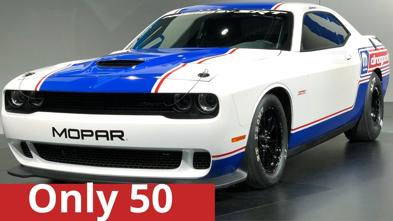 Only 50 People Will Run The 2020 Dodge Challenger Drag Pak