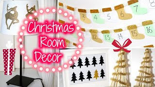 DIY Christmas Room Decorations Thumbnail
