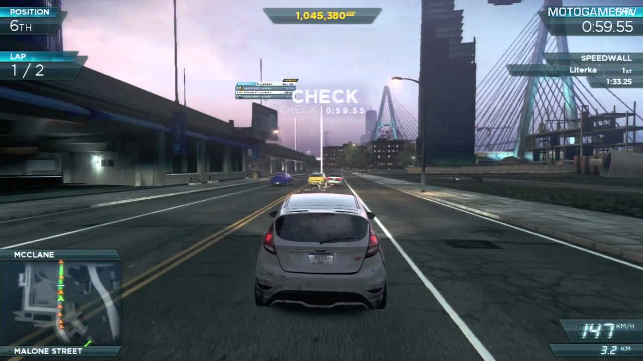 Need for Speed Most Wanted 2012 - Ford Fiesta ST Gameplay ...