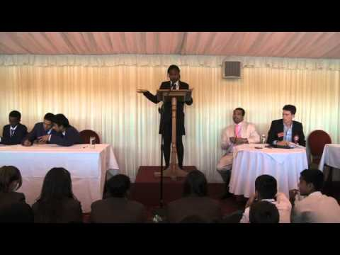 Debate Mate Cup Grand Final 2010 at The House of Lords