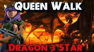 TH10 Queen Walk Dragon 3 Star (CWL Max Anti-3 Base) |  Defeating TH10 Anti LavaLoon Base 2017