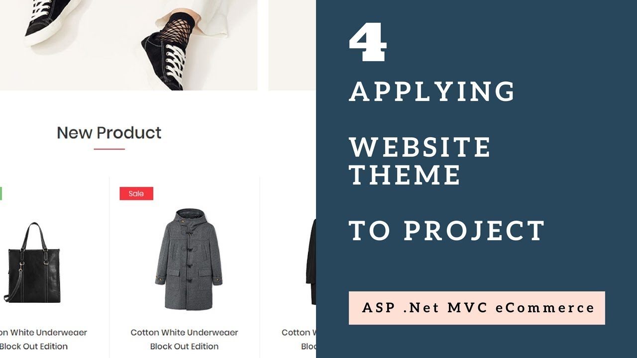 Applying Theme to Project with ASP .Net MVC - Session 4