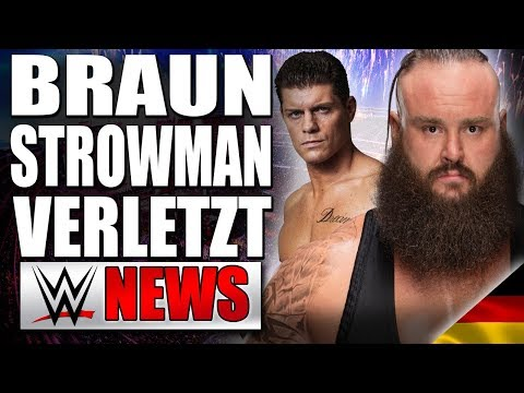 Braun Strowman wirklich verletzt, Cody Rhodes gründet Wrestling Promotion?   WWE NEWS 87/2018