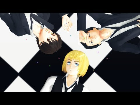 【進撃のMMD】虎視眈々 Koshitantan [Remake][Da-little cover][Real version please read description!]