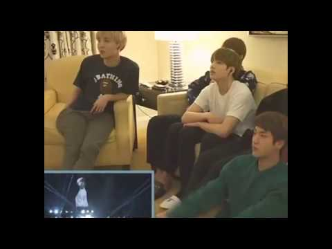 BTS (방탄소년단) JUNGKOOK REACTION TO 'BEGIN' DANCE BY HIMSELF ON STAGES