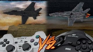 PlayStation Vs Sega Saturn - Independence Day