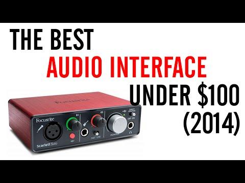 Best Audio Interface Under $100 (2014)