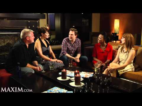 A Drink With the Cast of
