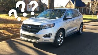 Why Buy The 2017 Ford Edge Sport??