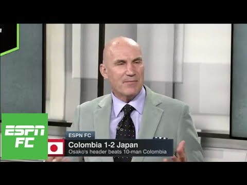 Stewart Robson: Japan made extra man count vs. Colombia in 2018 World Cup | ESPN FC
