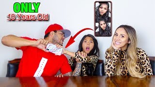My Parents REACT To My Camera Roll !! *Bad