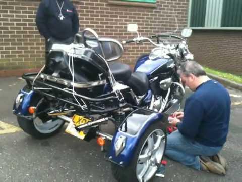Suzuki Intruder With Trike Kit