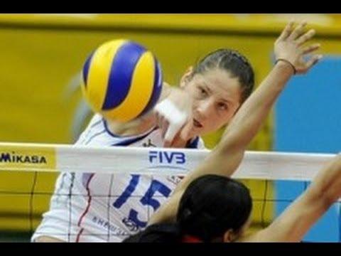 Волейбол попадание с целью ликвидировать...