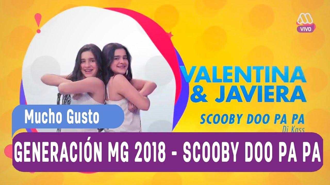 Generación MG 2018 - Ranking de canciones - Scooby Doo Pa Pa
