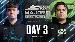 Call Of Duty League 2021 Season | Stage II Major Tournament | Day 3