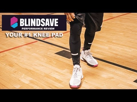 BlindSave Knee Pad Performance Review | These Are Better Than Mcdavid Knee Pads.