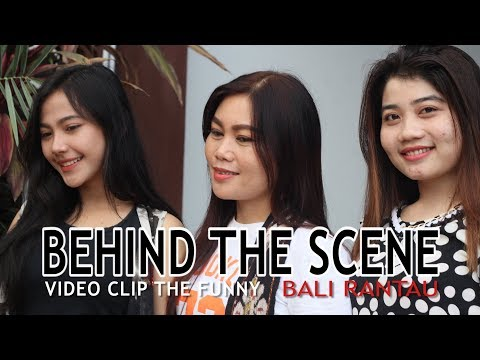 THE FUNNY - Tresne Terlarang | Bali Rantau | Behind the scene video clip