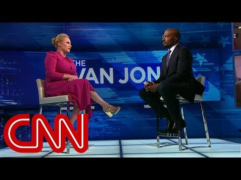 Van Jones asks Meghan McCain about father's Palin pick - YouTube