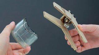 Как отрезать кривыми стеклянную бутылку/How to cut a bottle into curve