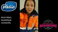 Anni-Mari | Kesätöissä Valiojengissä Valio Jyväskylän varastolla