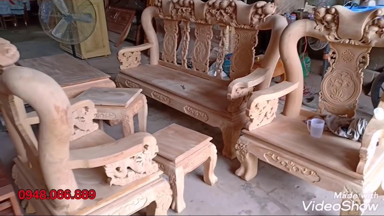 Báo giá bộ bàn ghế salon minh đào gỗ gõ đỏ tay 12. GIÁ CỰC RẺ | Salon và các thông tin mới nhất