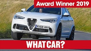Alfa Romeo Stelvio Quadrifoglio – why it's our 2019 Sports SUV (£60,000+) | What Car? | Sponsored