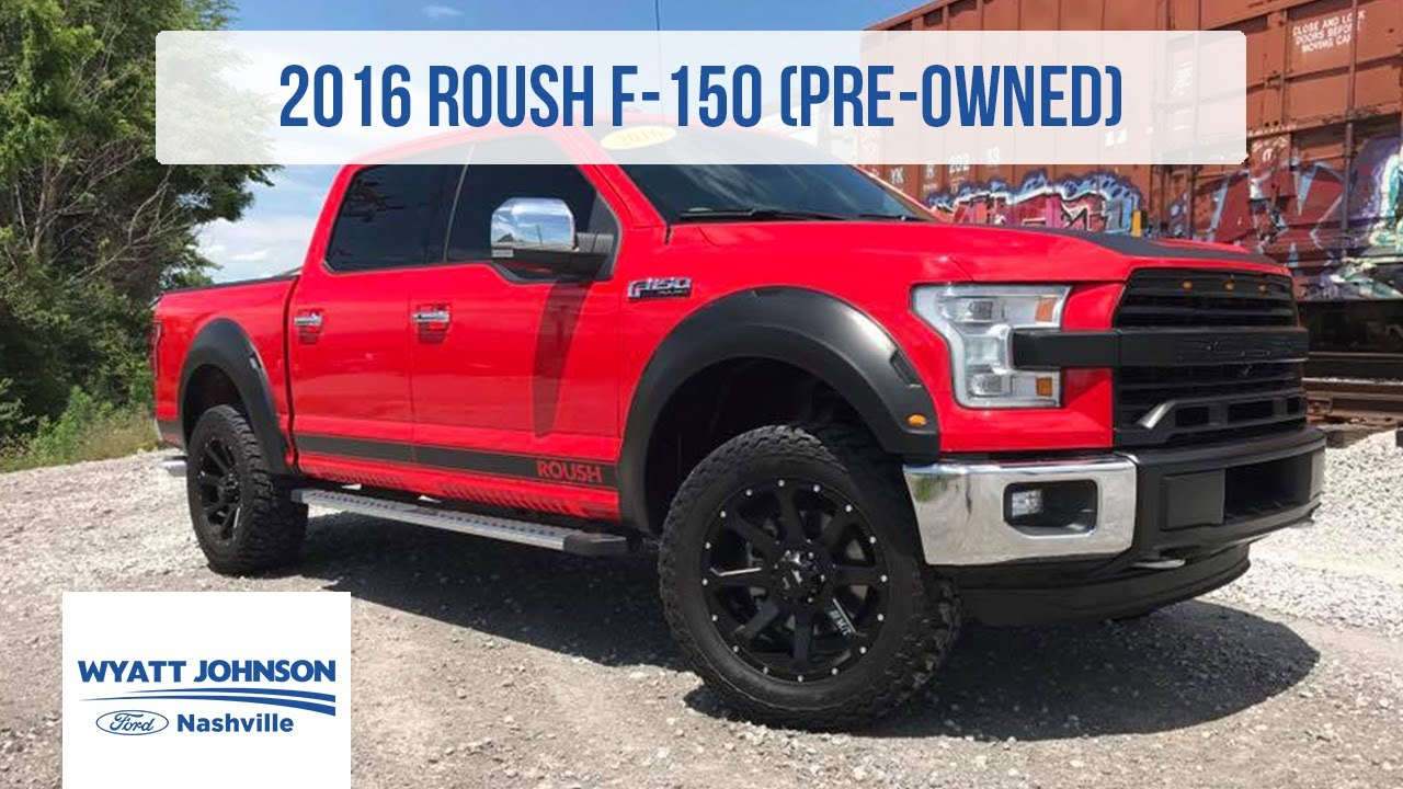 Used F150 For Sale Near Me >> Used 2016 Roush F 150 For Sale 600hp Supercharged Youtube