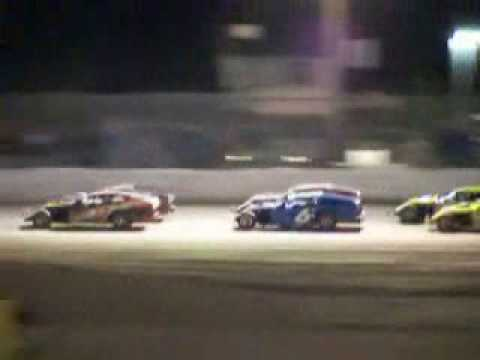 Reno-Fernley Raceway dirt track re-opening night 2009, part 2 of 3