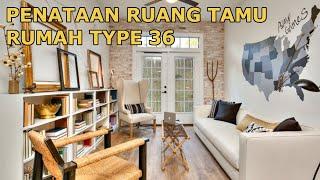 Penataan Ruang Tamu Rumah Type 36