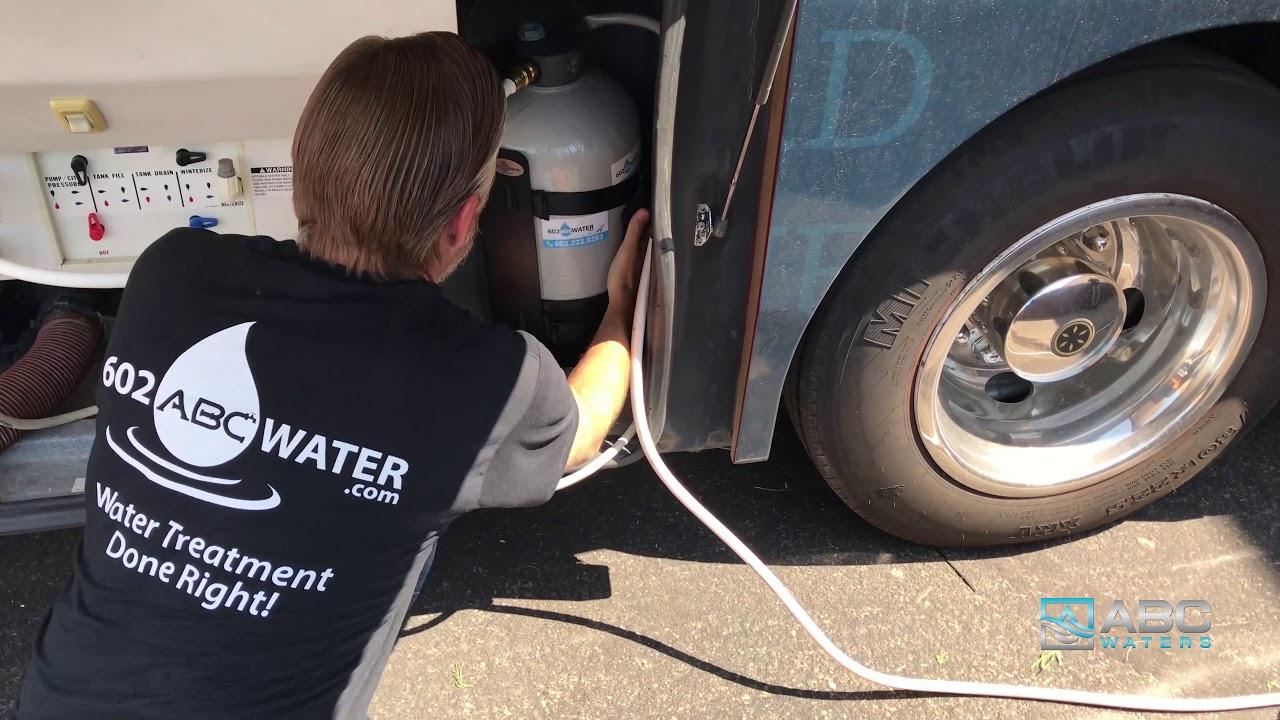 rv water softener system