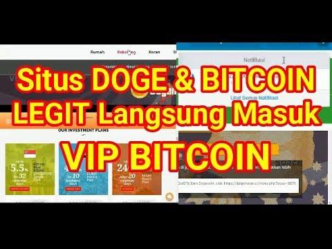 2 Situs Invest Penghasil DOGE dan Bitcoin Legit.