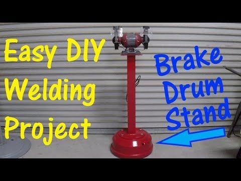 DIY Grinder Or Vise Stand Welding Project