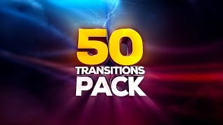Motion Graphics Transitions - 50 Transitions Pack