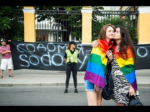 Как проходил ЛГБТ марш в Киеве 2019 / Более 8000 человек приняло участие