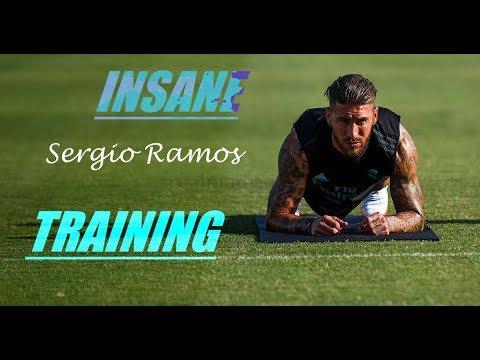 Sergio Ramos: A footballers gym workout ?