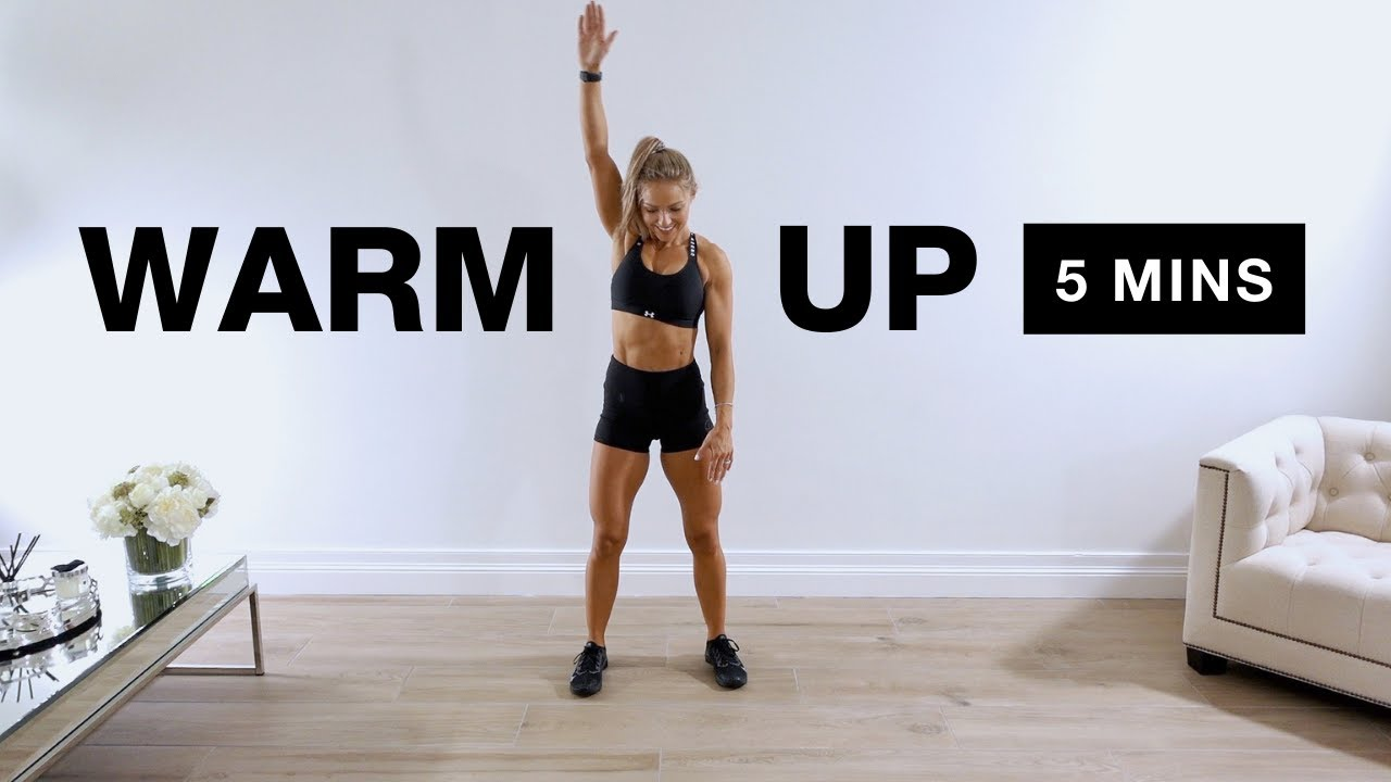 Download 5 Min Full Body Warm Up with Caroline Girvan
