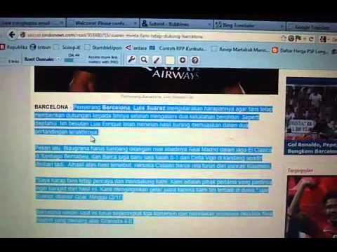 Cara Membuat Artikel Bahasa Inggris Pada Situs Bubbelws