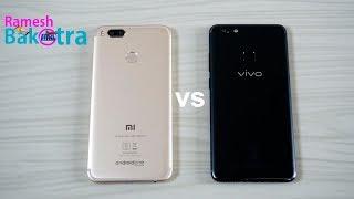 Vivo V7 Plus vs Xiaomi Mi A1 Speed Test Comparison