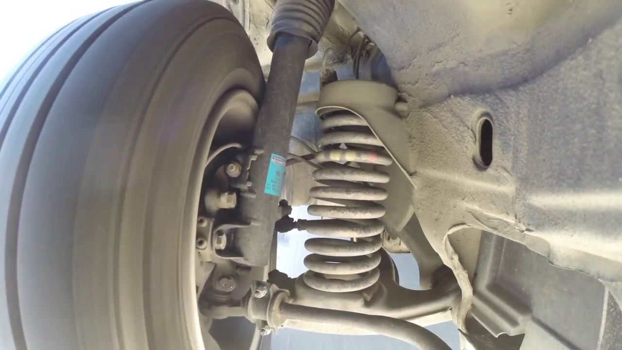 W124 1989 Mercedes 300e Front Suspension In Action Youtube