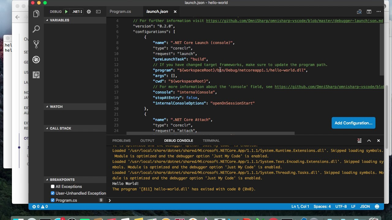 C# On Mac With Visual Studio Code And .net Core In 3 Min